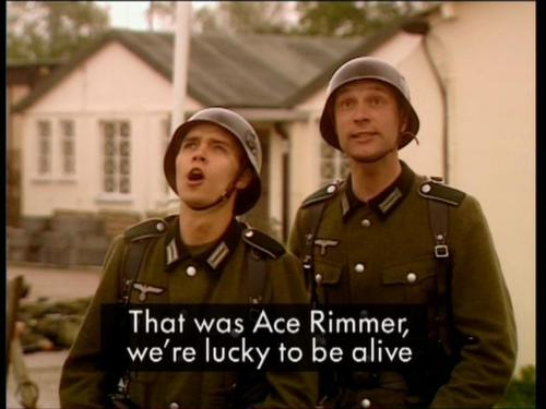 Ace Rimmer -the germans-