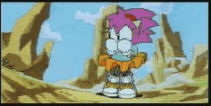Amy in Sonic CD