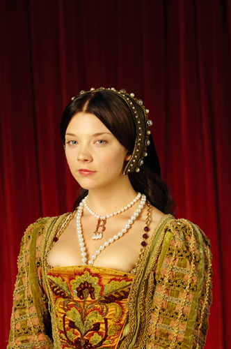 Anne Boleyn fond d'écran entitled Anne Boleyn - The Tudors TV montrer