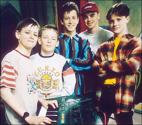 Ant & Dec on Byker Grove