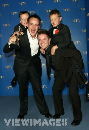 Ant & Dec with Little Ant & Dec
