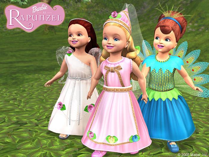 Barbie achtergrond