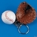 Baseball and Mitt Keychain - keychains icon