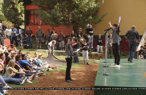 Behind the Scenes of Camp Rock