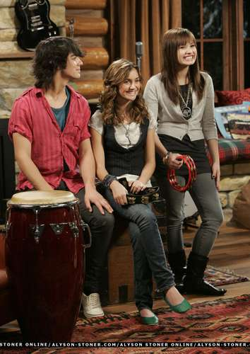 Behind the Scenes of Camp Rock