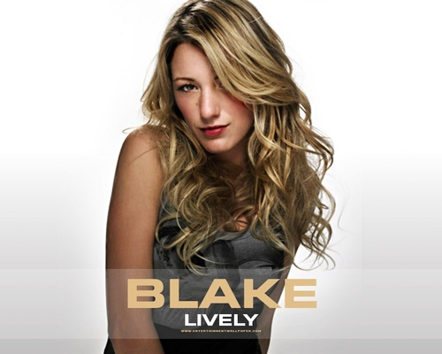 Blake Lively wallpaper with a portrait entitled Blake Lively
