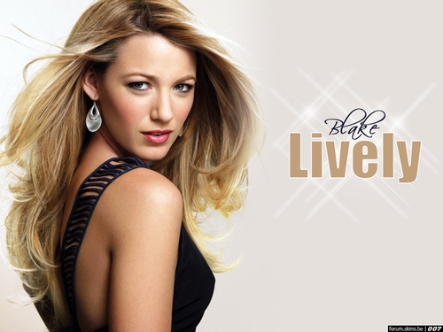 Blake Lively wallpaper containing attractiveness and a portrait entitled Blake Lively