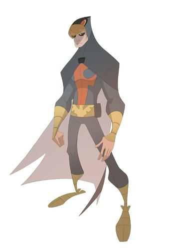 Blue falco, falcon