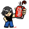 CARTOON COKE - coke photo