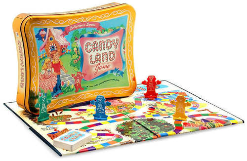 Candy Land Game Tin