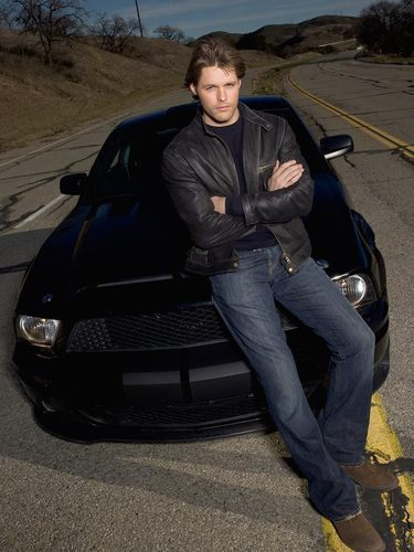 Justin Bruening and KITT