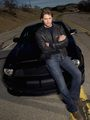 Justin Bruening and KITT - knight-rider photo