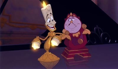 Cogsworth & Lumiere