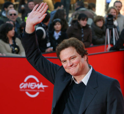 Colin Firth wallpaper containing a business suit entitled Colin