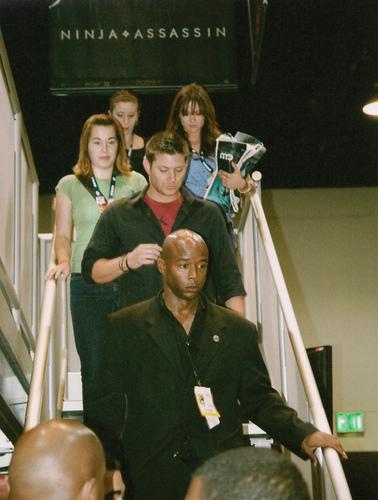 Danneel Harris @ Comic-Con with Jensen!!