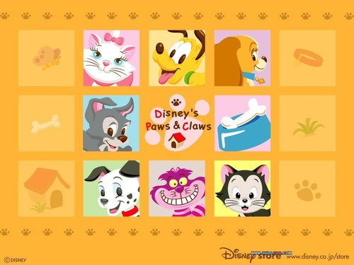 Disney hình nền titled Disney Paws and Claws