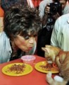 Eartha Kitt and friend - against-animal-cruelty photo