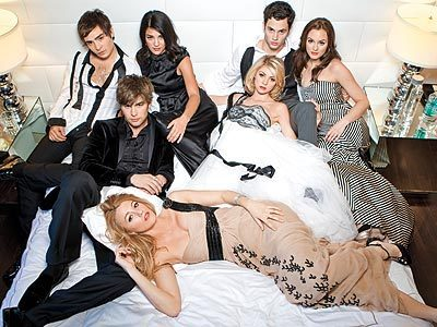 Gossip Girl wallpaper called Ed Westwick, Penn Badgely, Chace Crawford & Blake Lively