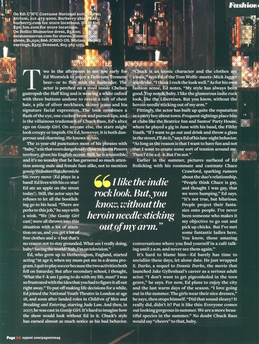 Ed in Page Six mag scans
