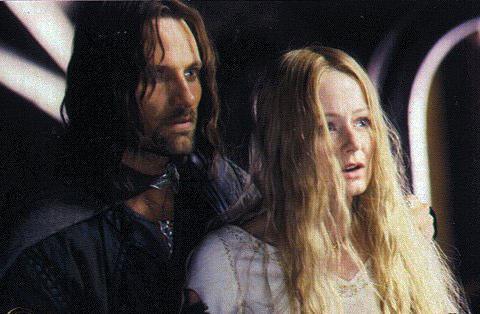Eowyn and Aragorn