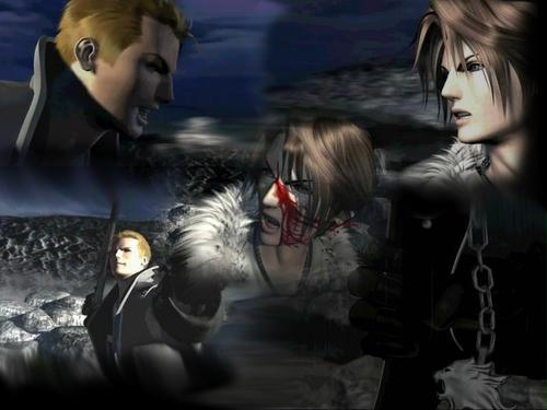 Final Fantasy Hintergrund entitled FF8