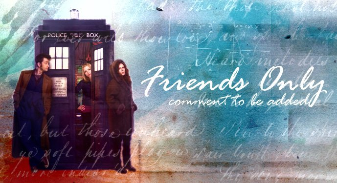 Friends Only Banners