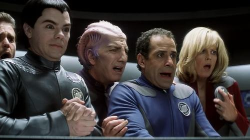 Tony Shalhoub wallpaper probably with a green beret titled Galaxy Quest Screen Shots
