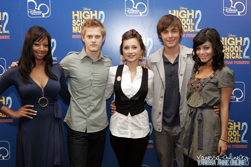 High school musical hsm cast