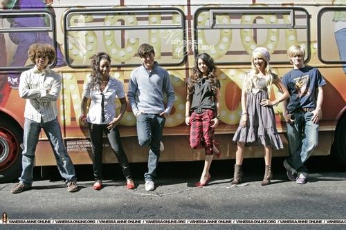 High School Musical wallpaper with a street called HSM Cast