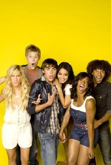 High School Musical fond d'écran possibly with a portrait entitled HSM Cast