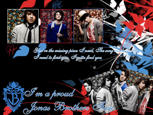 The Jonas Brothers wallpaper probably containing anime titled I Gotta Find YOu