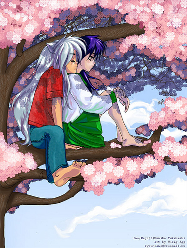 naked Inuyasha and kagome