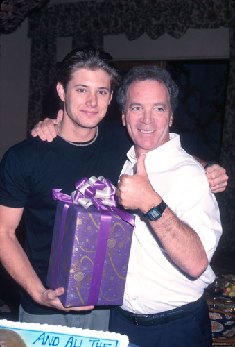 Jensen's last día of filming at DOOL