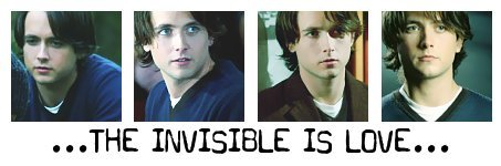 Justin/The Invisible lovebars