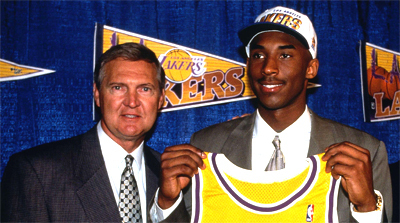 Kobe Bryant NBA Draft 1996