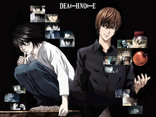 Light Yagami images Light and L HD wallpaper and background photos