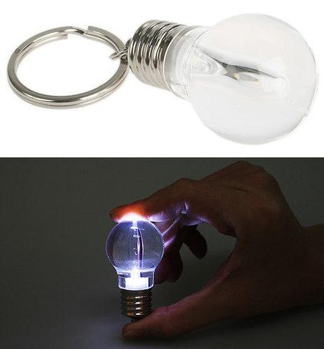 Lightbulb Keychain
