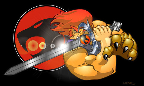 Thundercats wallpaper probably containing anime entitled Lion-O