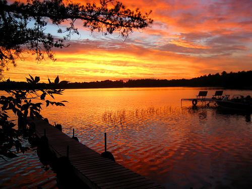 Little بھیڑیا Lake, Minnesota