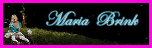 Maria Brink banner