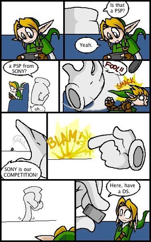 Master hand hates PSP - super-smash-bros-brawl Fan Art