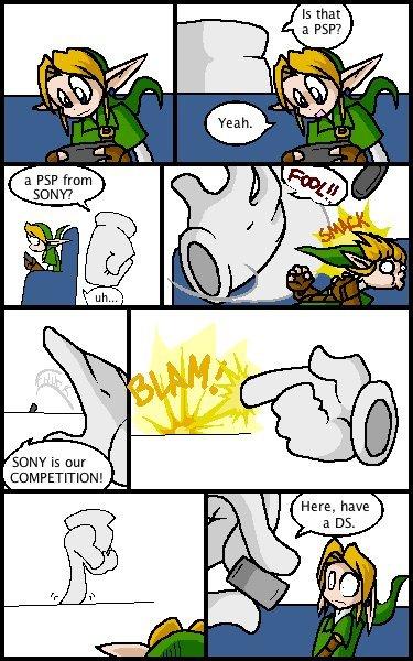 Master hand hates PSP