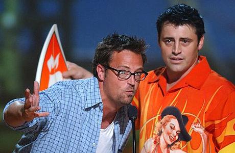 Joey & Chandler fondo de pantalla entitled Matthew Perry & Matt LeBlanc