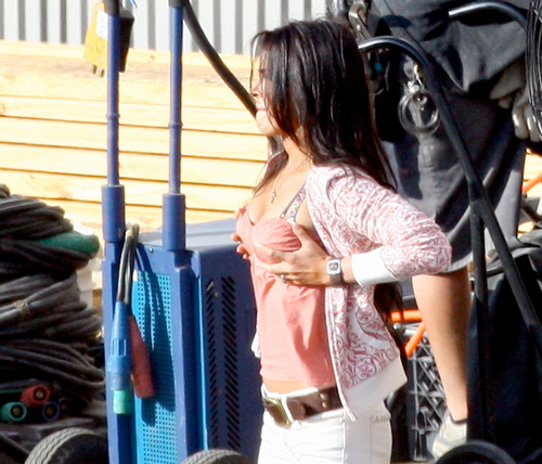 Megan on Set transformers 2