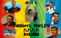 Michael 8 for 8  - michael-phelps wallpaper