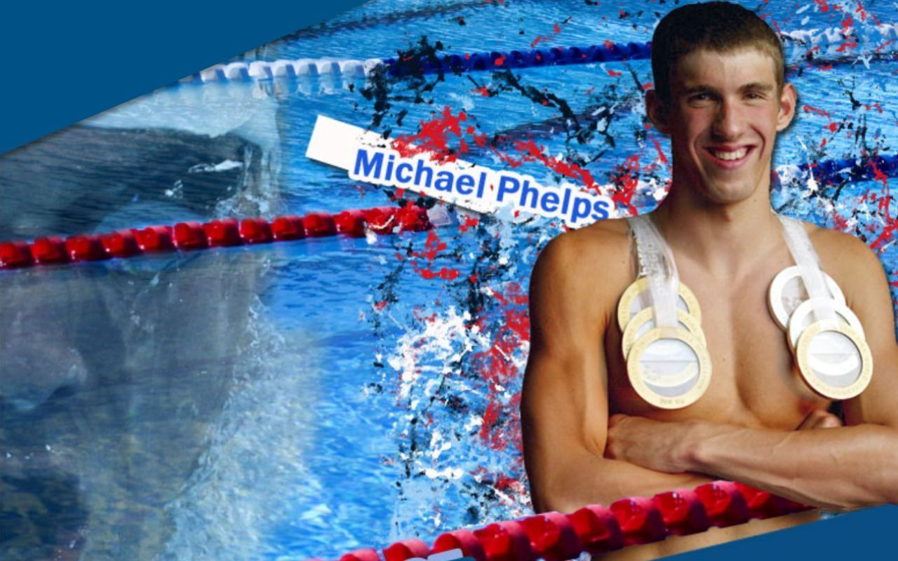 Michael Phelps پیپر وال