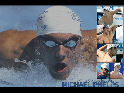 Michael Phelps wallpaper containing a breaststroker and a water called Michael