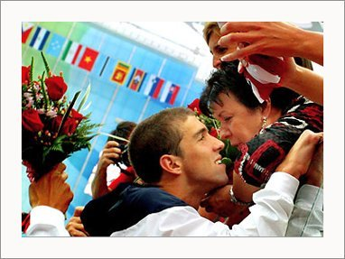 Michael Phelps پیپر وال possibly with a bouquet called Michael