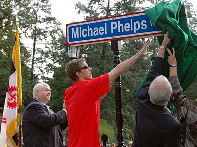 Micheal Phelps rue