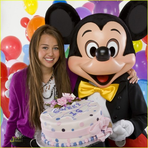 Miley Cyrus Sweet 16